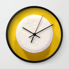Yellow Rohypnol Wall Clock