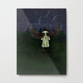 Angels Are Falling Metal Print