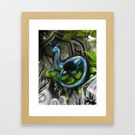Shang the Dragon Framed Art Print