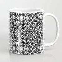 oriental Mugs featuring Oriental Pattern by LebensARTdesign