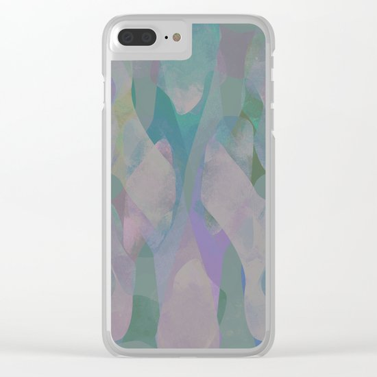 Camouflage XX Clear iPhone Case