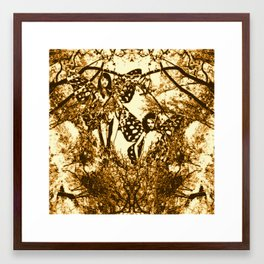 Fairy Double Framed Art Print