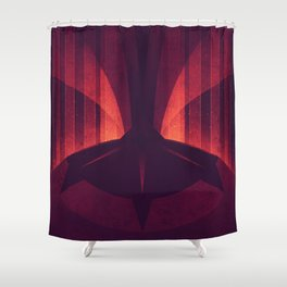 Io - The Sulfur Plumes Shower Curtain