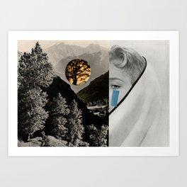 MOUNTAINTEAR Art Print