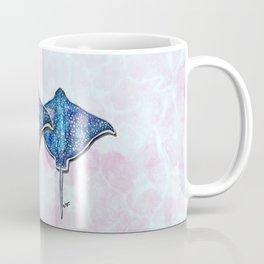 Eagle ray_Hand Painted watercolour  Coffee Mug