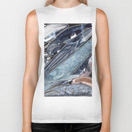 Whales Biker Tank