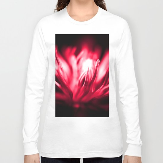 Makes you feel so (Cherry Red) Long Sleeve T-shirt