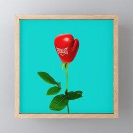 Rose Punch Framed Mini Art Print
