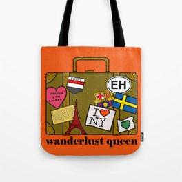 Wanderlust Queen Tote Bag