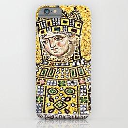 Zoe, detail of The Empress Zoe mosaics (11th-century) in Hagia Sophia (Istanbul, Turkey iPhone Case