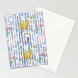Cute Feminist Killjoy Pattern Stationery Cards