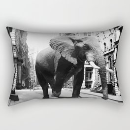 Street walker II Rectangular Pillow