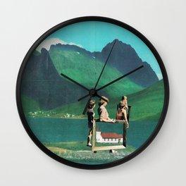 Folksy Art Youth Wall Clock