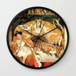 """Théophile Steinlen """"Le Rêve"""" Wall Clock"""