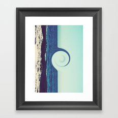 Ocean and Sky Framed Art Print