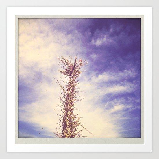 desert llama Art Print