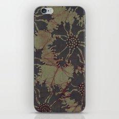 Batik Poppies iPhone & iPod Skin