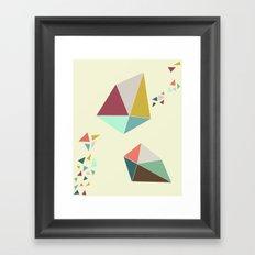 Geome(tri)c Framed Art Print