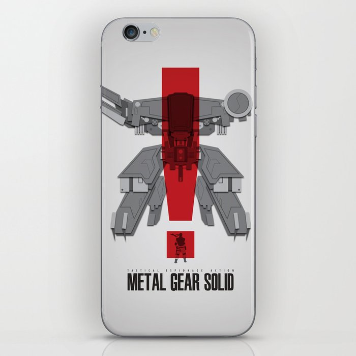 Metal Gear Solid Movie Poster iPhone Skin