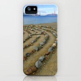 Lands end San Francisco golden gate iPhone Case