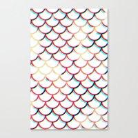koi fish Canvas Prints featuring Koi Fish by JoanaRosaC