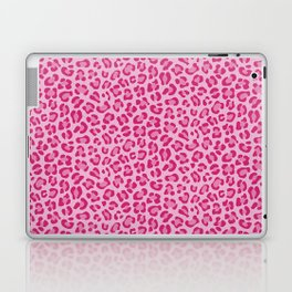 Leopard - Lilac and Pink Laptop & iPad Skin