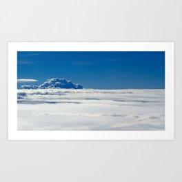 Landscape - Clouds Art Print