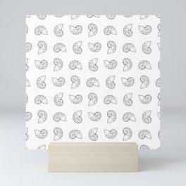 Nautilus Shell Print Mini Art Print