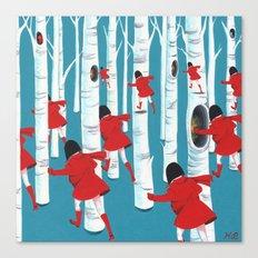 12 Canvas Print