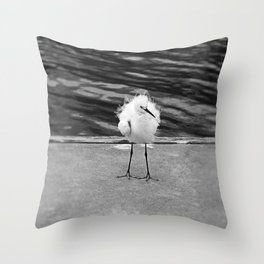 Floating on the Breeze Throw Pillow