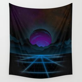 Outrun-2 Wall Tapestry