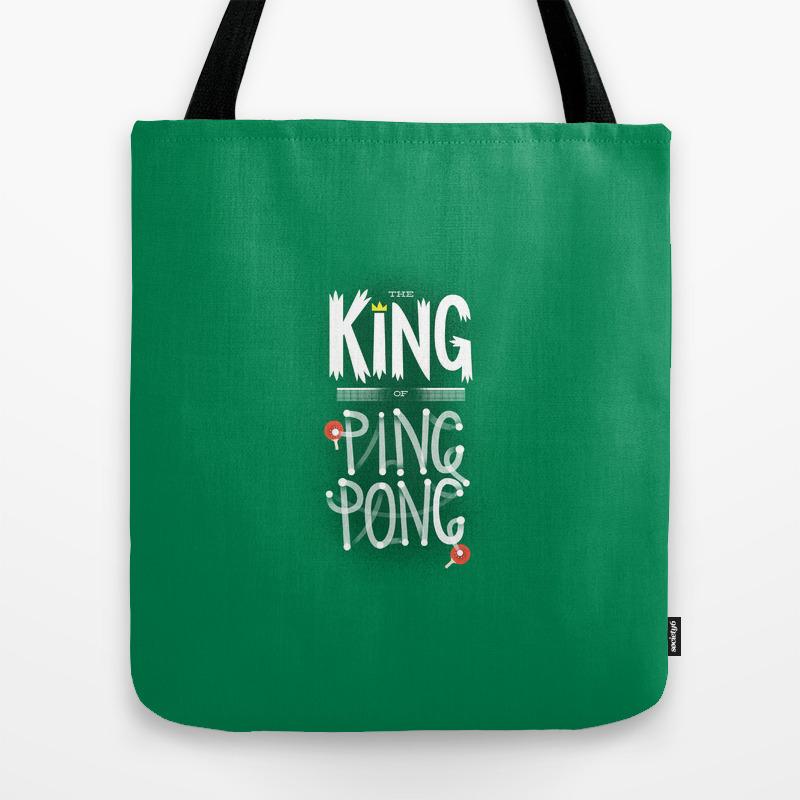 Ping Pong Tote Bag By Wharton
