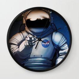 NASA Recruitment Poster /We Need You Wall Clock