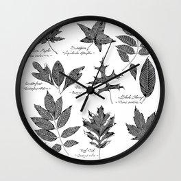 Native New Yorker Trees Wall Clock