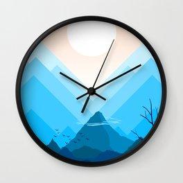Summer nature X Wall Clock