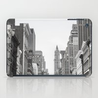 broadway iPad Cases featuring Broadway - NY by Basma Gallery