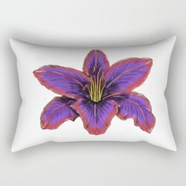 Stylized Lily Rectangular Pillow