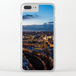 The Hague Aerial Clear iPhone Case