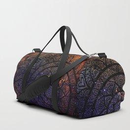 Space mandala 17 Duffle Bag