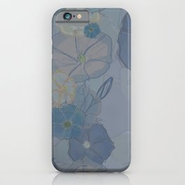 Foggy Morning Glories iPhone Case