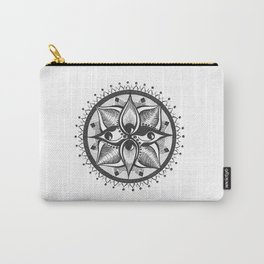Four Eyed Mandala Carry-All Pouch