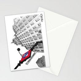 Edificio España - Madrid (Spain) Stationery Cards
