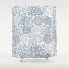 Silver Souk Shower Curtain