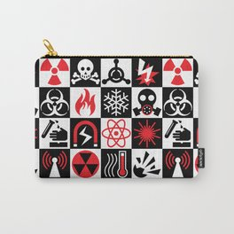 Hazard Danger Icons Carry-All Pouch