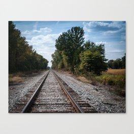 Permanent Way Canvas Print
