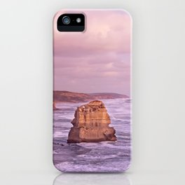 Gog and MaGog At Sunset. 12 Apostles Along The Great Ocean Road. iPhone Case