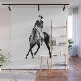 Horse (Dressage / half pass) Wall Mural