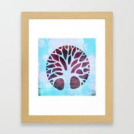 Spring Tree Framed Art Print