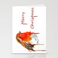 robin Stationery Cards featuring Robin by Paint the Moment