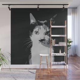 A Feline Mastermind Wall Mural